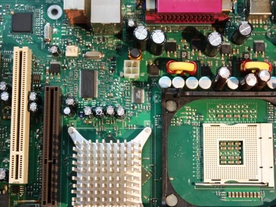 精密機器メーカー向け、デジタル仕分け表示器用基板実装、ユニット品組立