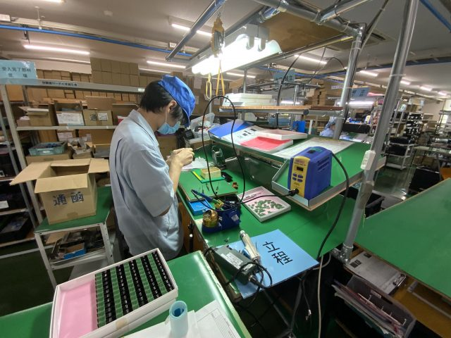 ユニット基板開発・量産組立サービス