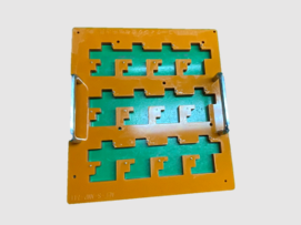 専用のコネクタ位置決め治具を製作し、品質改善