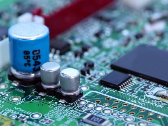 計測機器メーカー向け、計測器Bluetoothアダプタ用基板実装、完成品組立